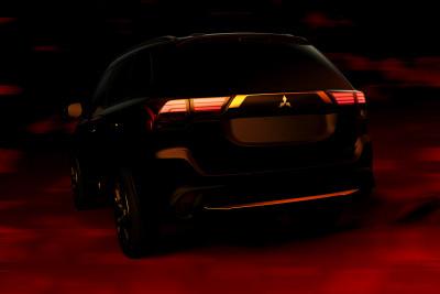 2016 Mitsubishi Outlander Rear