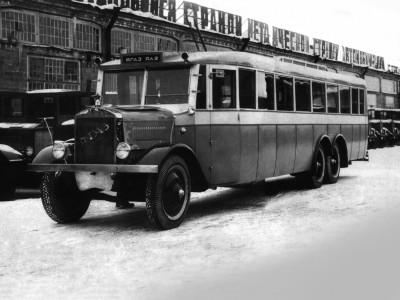Автобус большой вместимости 100-местный ЯА-2, 1932 г.