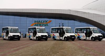 Автобусы ГАЗель NEXT на Универсиаде в Алматы
