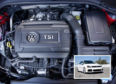 BASF's sound-absorbing Basotect® TG melamine foam is now being used for the acoustic layer in the Volkswagen EA888 engine for the Jetta, Golf, Passat, Tiguan, and Beetle models produced in North America.