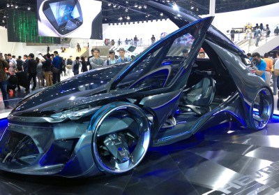 Chevrolet Concept Car with BASF coating_side