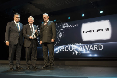 Delphi VW Group Award '15 MIB