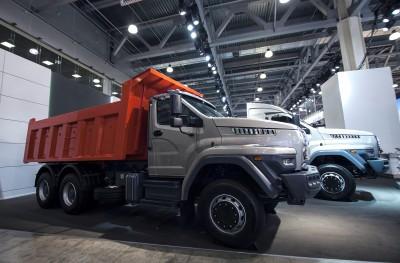 Дорожный самосвал Урал