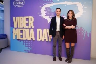 Евгений Рощупкин_Директор Viber в России и СНГ_Кристина Констандаке_Вице-президент по глобальным партнерствам Viber
