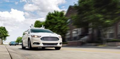 Ford Fusion Hybrid Autonomous Vehicle