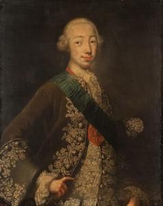 Г.Х.Гроот Портрет великого князя Петра Фёдоровича. 1740-е. ГРМ