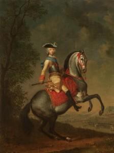 Г.Х.Гроот. Портрет великого князя Петра Федоровича. Около 1742. ГРМ