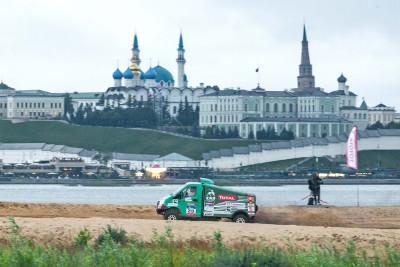 ГАЗель NEXT на первом спецучастке у стен Казанского кремля