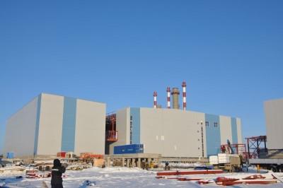 Главный корпус и здание электротехнических устройств