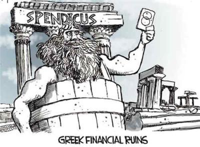 Greece's debts