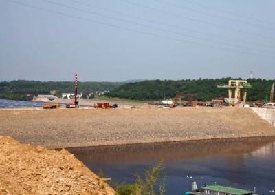 Грунтовая плотина Нижне-Бурейской ГЭС