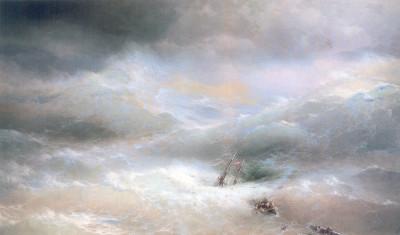 И.К.Айвазовский. Волна. 1889. Холст,масло. 304х505
