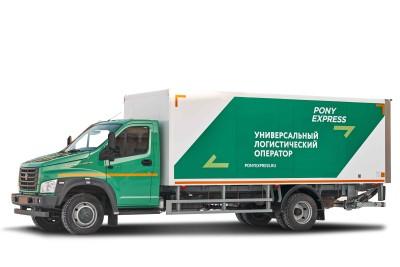 Изотермический фургон ГАЗон NEXT с гидробортом