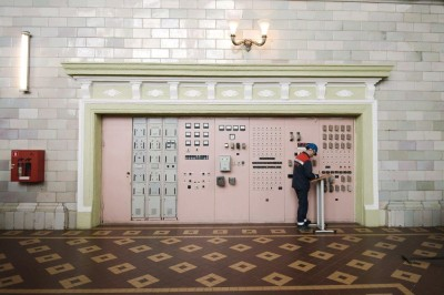 Машинный зал РГЭС