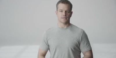 Matt Damon and Stella Artois