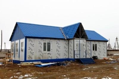 Новое здание ФАП в с.Новокурск
