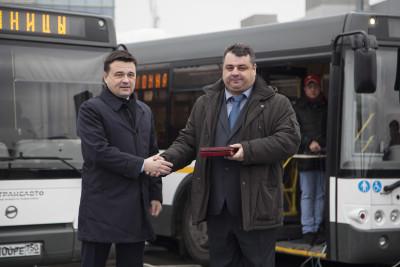 Передача ключей от автобусов