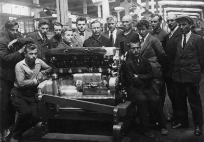 Первый отечественный дизель-мотор КОДЖУ и его создатели, 1933 г.