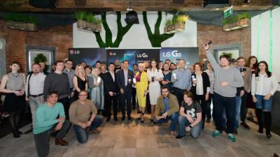 Презентация смартфона LG G6 в России