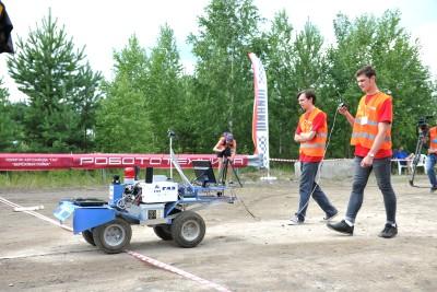 Робот нижегородских студентов