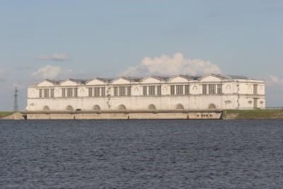 Рыбинская ГЭС_верхний бьеф
