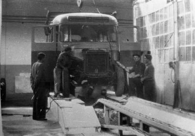 Сборка первого автобуса ПАЗ-651