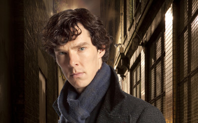 ÒSherlockÓ Ð A fast-paced, witty take on the legendary Sherlock Holmes crime novels, now set in present day London and starring Benedict Cumberbatch (The Last Enemy) as the Baker Street sleuth and Martin Freeman (The Office UK) as his loyal sidekick Doctor Watson. Shown: Benedict Cumberbatch as Sherlock Holmes