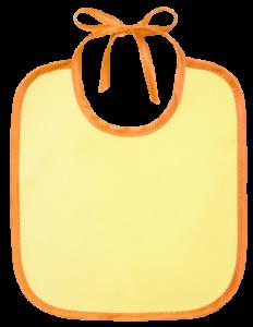 Слюнявчик Курносики желтый