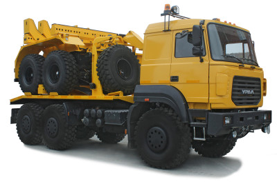 Трубоплетевоз Урал-6370