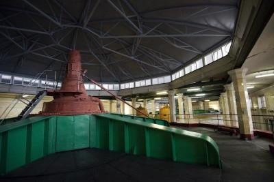 Угличская ГЭС. Машзал_