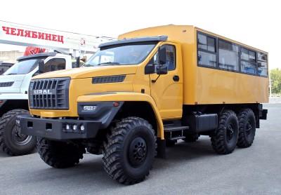 Вахтовый автобус Урал NEXT в северном исполнении