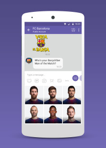 Viber Barcelona ManOfTheMatch