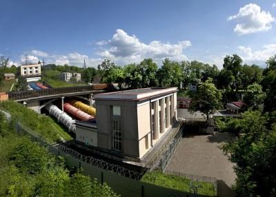 Вид на Дзауджикаускую ГЭС