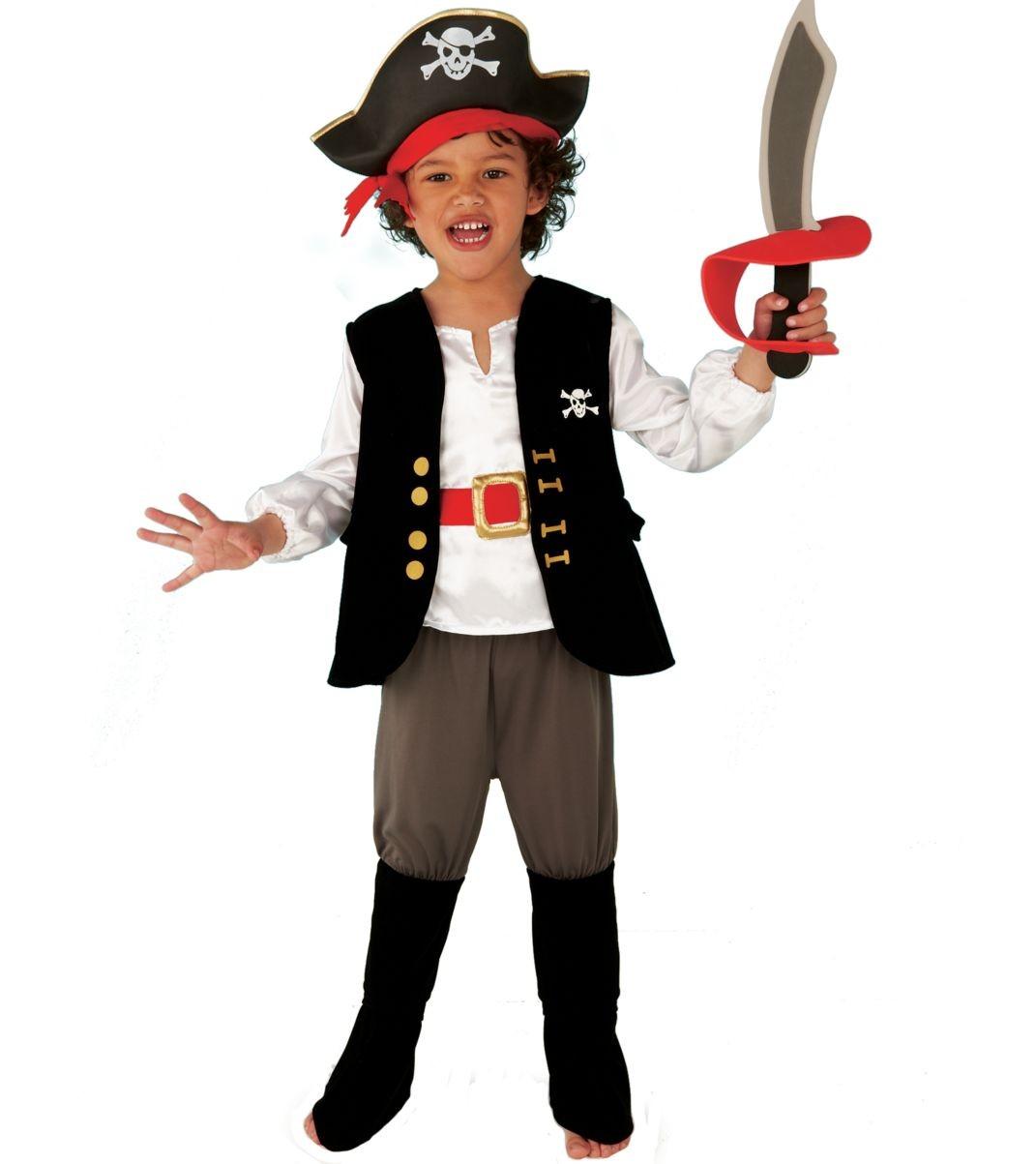 Костюм пирата на новый год своими руками