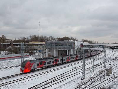 Железнодорожная станция МЦК «Коптево»